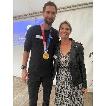 ECI Promotion et le Champion olympique Kevin Tillie!